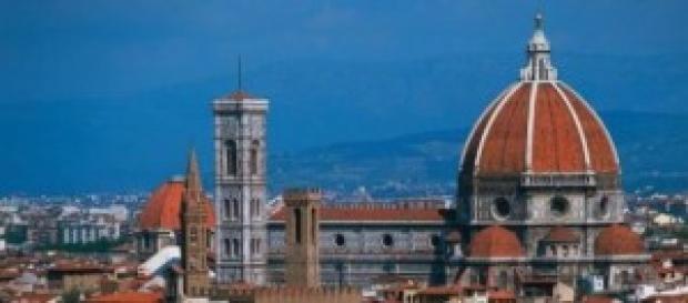 Una veduta del Duomo di Firenze