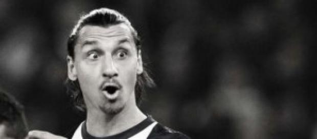 Zlatan durante el transcurso de un partido