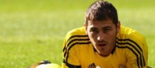 Iker Casillas, portero del Madrid