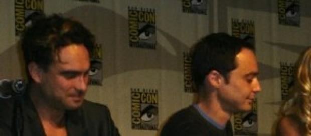Parte del elenco de la serie en un rueda de prensa