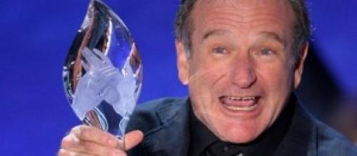 Robin Williams y su sonrisa de siempre.