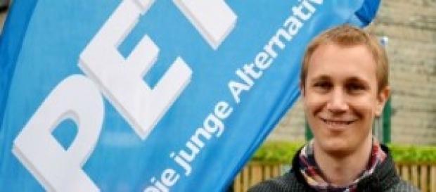 Daniel Zimmermann tras ganar las elecciones