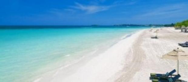 Seven Mile Beach a Negril