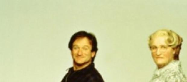 Robin Williams nel film capolavoro Mrs Doubtfire