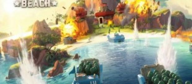 Wallpaper del videojuego de móvil