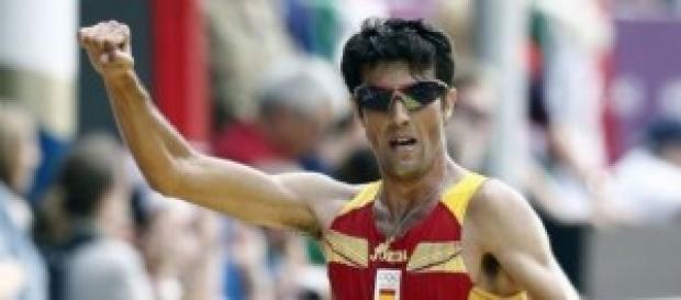 Miguel Angel Lopez campeón de Europa de marcha.