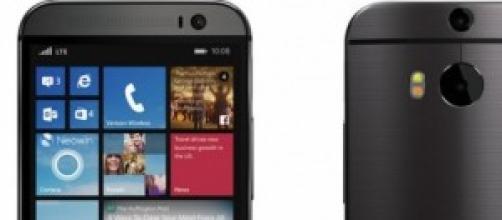 Rendering di HTC One M8 con Windows Phone 8.1