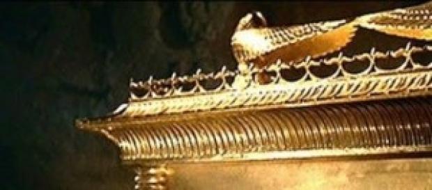 Imagem de como seria a Arca da Aliança.