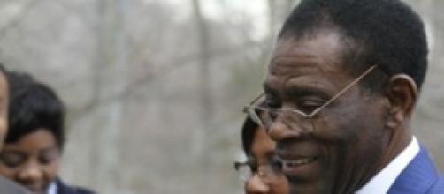 Teodoro Obiang, dictador de Guinea Ecuatorial