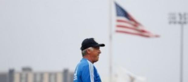 Ancelotti en la gira americana de su equipo