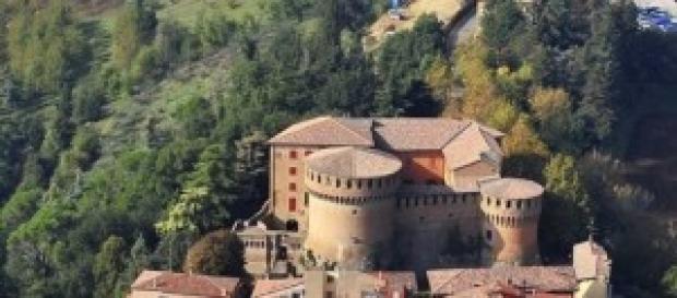Dozza (BO), il borgo medioevale e la Rocca