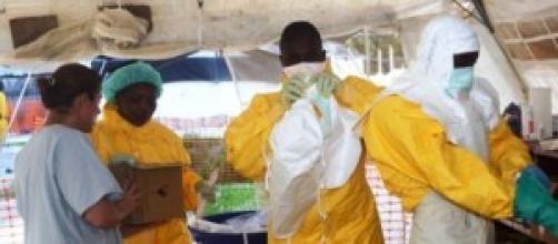 il contagio da ebola in aumento