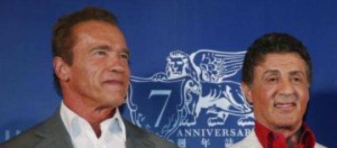Stallone y Schwarzeneger dos de los firmantes