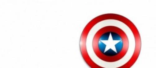 El escudo del Capitán América.