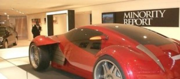El coche creado por Lexus para la película.