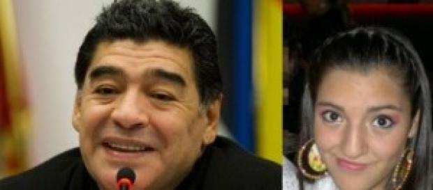 Jana, la hija de Diego Maradona
