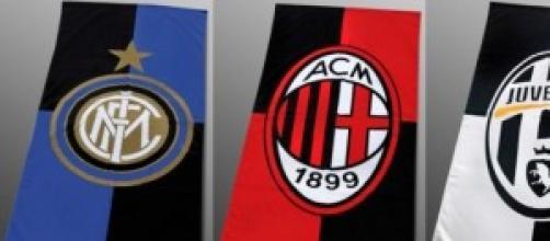 Rose della Juventus, Inter e Milan