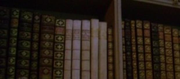 Biblioteca no Palácio Nacional de Mafra