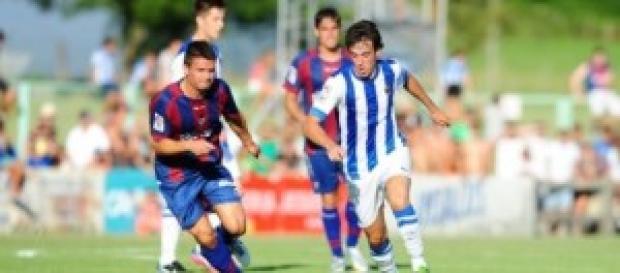 Imagen del partido Eibar-Real Sociedad