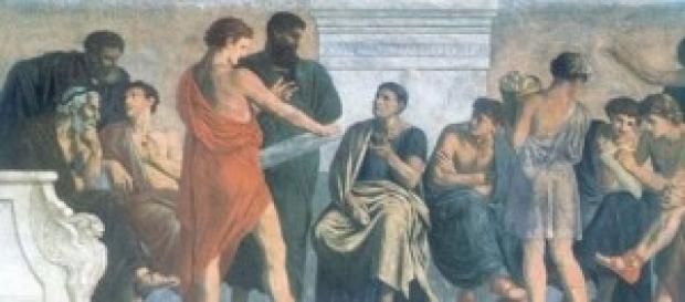 La escuela peripatética fue un círculo filosófico