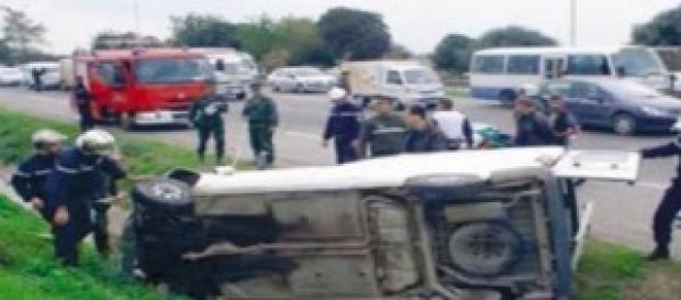 les accidents de la route en Algérie