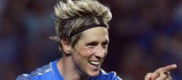 Fernando Torres attaccante sul mercato del Chelsea