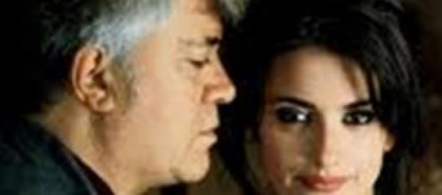 Pedro Almodóvar et son actrice, Pénélope Cruz