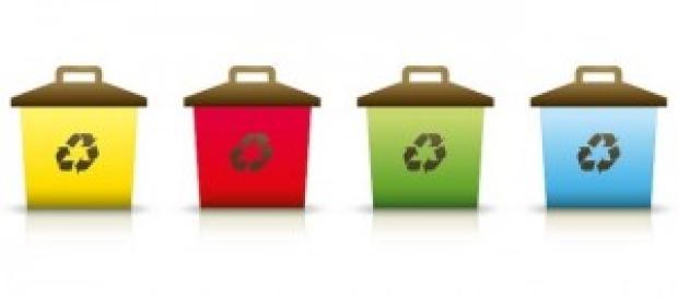Separação de lixo e reciclagem