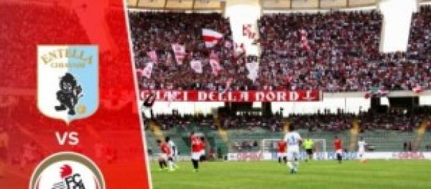 Virtus Entella vs Bari al debutto in serie B
