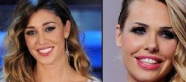 Ilary Blasi vs Belen Rodriguez per Le Iene.