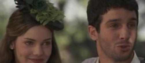 Juan prima di morire, felice con Soledad.