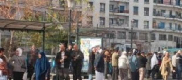 crise de transport à Alger