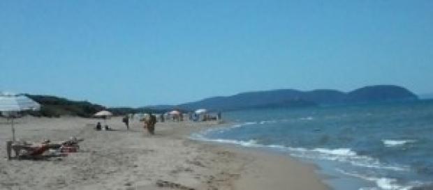 La spiaggia di Rimigliano in Toscana