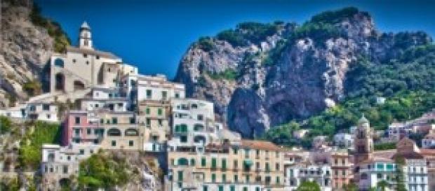 Scorcio meraviglioso sulla Costiera Amalfitana