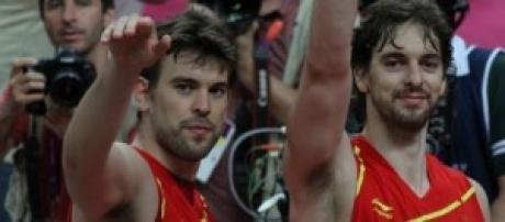 Dos de las estrellas de la actual España.