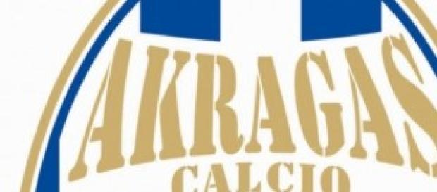Akragas calcio. stemma della squadra.