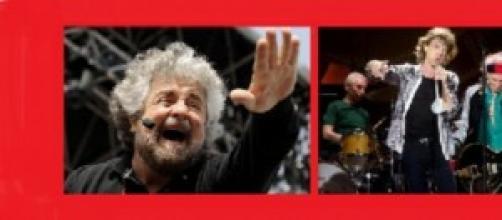 Grillo chiama Jagger e i Rolling Stones
