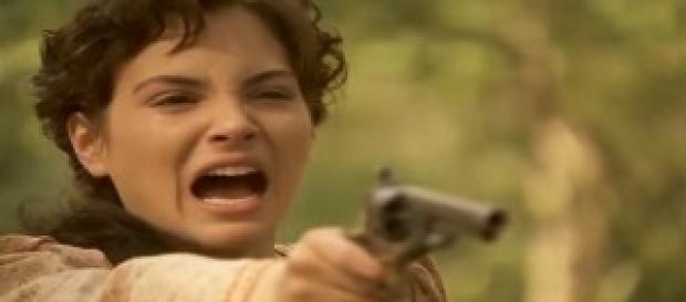 Enriqueta pronta a sparare