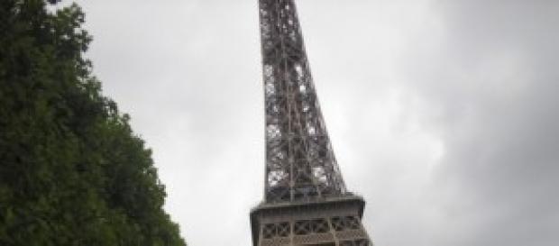 Uno scorcio della Tour Eiffel