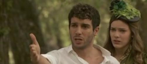 Enriqueta spara a Juan: l'uomo protegge Soledad.