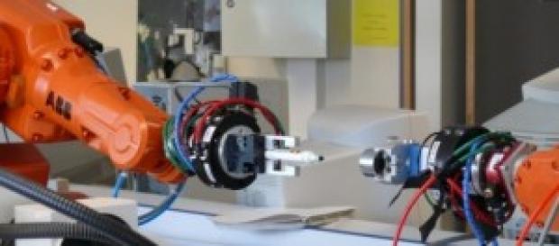 Los robots sustituyen la mano de obra humana