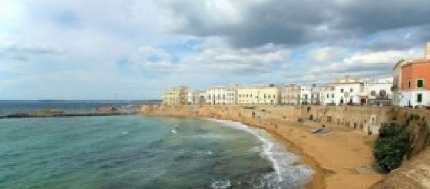 Uno sguardo sulla città vecchia di Gallipoli.