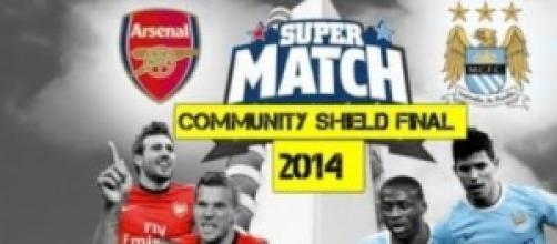 Arsenal-Manchester City Community Shield
