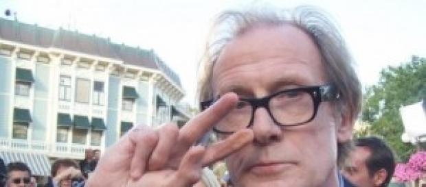Bill Nighy en la presentación de una película