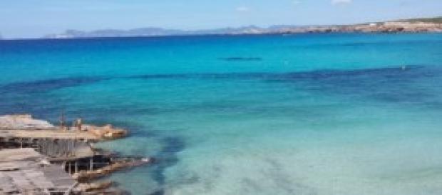 Formentera e il mare di Cala Saona