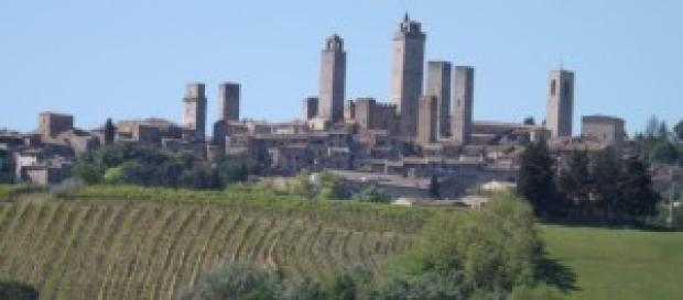 San Gimignano - vista panoramica