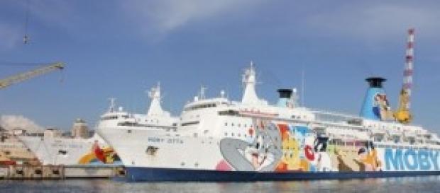 Traghetti Moby: agevolazioni dall'11 agosto