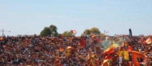 Calcio Coppa Italia 2014-2015: Lecce-Foligno