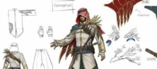 Concept Art di un personaggio di Tekken 7