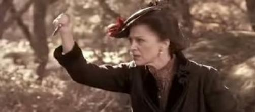 Donna Francisca ferma il pastore